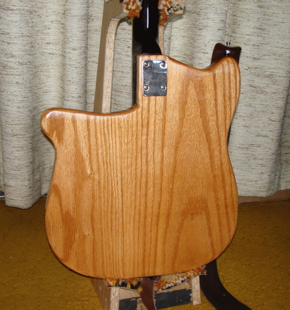 Figure 11 - Back of the completed guitar