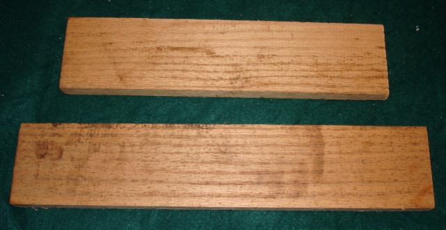 Figure 6 - Leftover wood for comparison